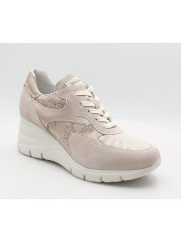 nero-giardini-sneakers-donna-aracalzaturezeppa-E115131D-beige